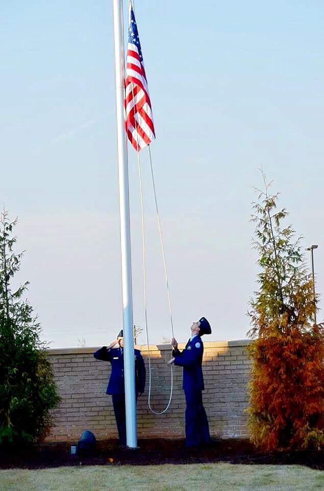 Veterans Day Flag raising 2016 FB_IMG_1478959811846