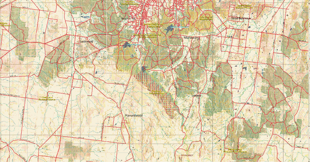 Oziexplorer maps. 100kfiremap