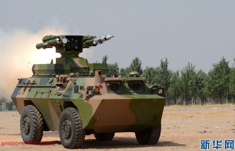 التنين الصينى المدرعة HJ-9 صائدة الدبابات المذهلة ! 6240