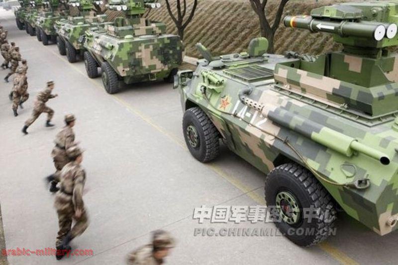 التنين الصينى المدرعة HJ-9 صائدة الدبابات المذهلة ! 7-1