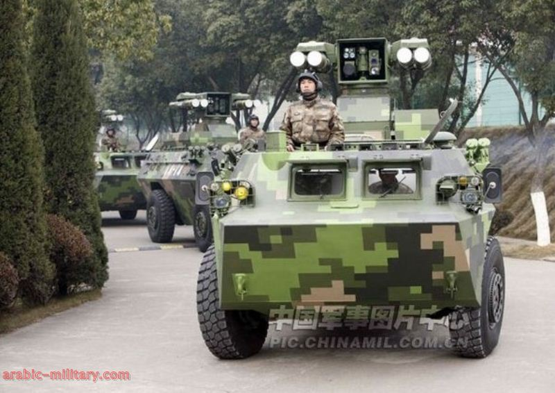 التنين الصينى المدرعة HJ-9 صائدة الدبابات المذهلة ! 8-1