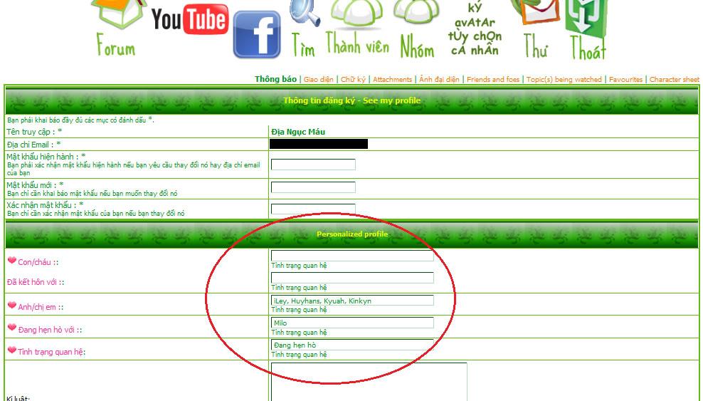Thông báo về mở thêm chức năng mới tại profile của mỗi thành viên - Page 2 2