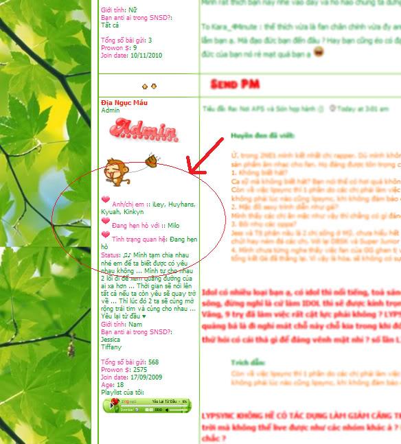 Thông báo về mở thêm chức năng mới tại profile của mỗi thành viên - Page 2 DemoHell