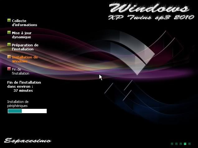لأول مرة نسختين من windows xp twins sp3 و windows 7 على قرص واحد تجربة ممتعة Cap2