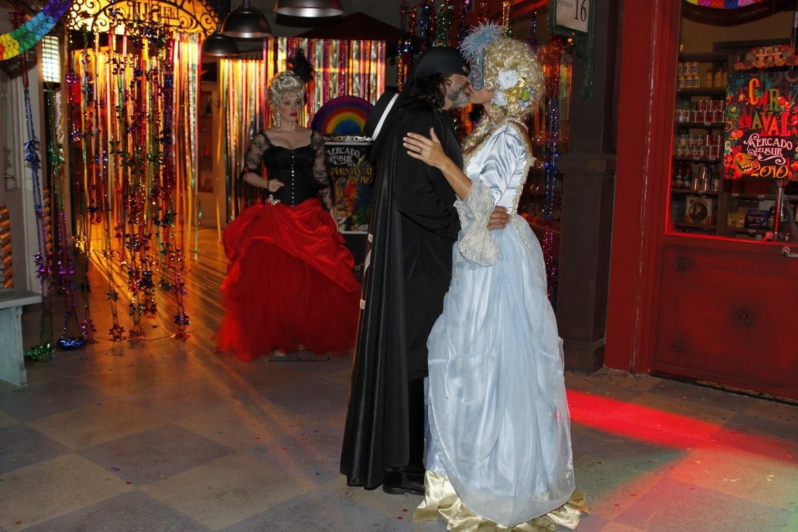 Carnaval en Alguien que me quiera BesoRodolfoyKatia