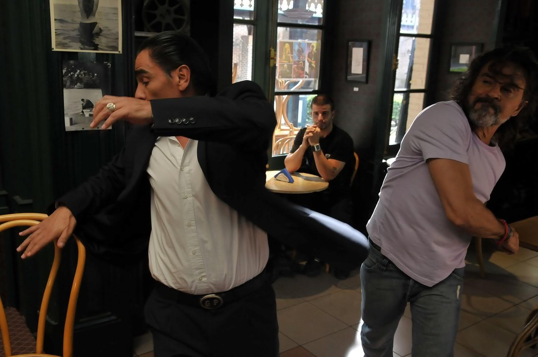 Gastón y Rodolfo pelean por Rocío Pelea1