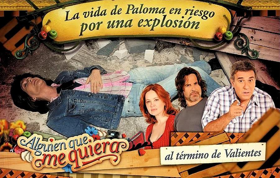 Afiche 09/02 - La vida de Paloma en peligro por una explosion Afiche0902