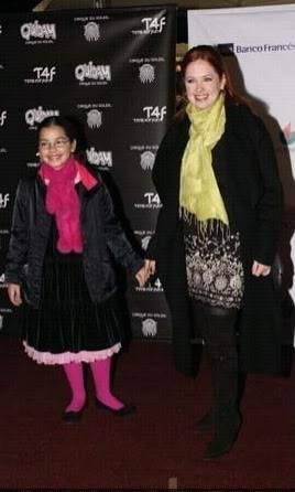 Андреа, Ана Мария  и Анна на представлении Цирка Дю Солель Andrea-Anna_