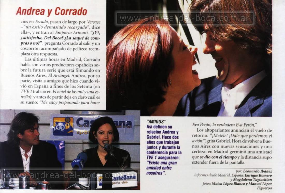 """Андреа и Габриэль в Испании: Лишь теперь мы стали друзьями"""" Andy_Gabi_Gente_96_05"""