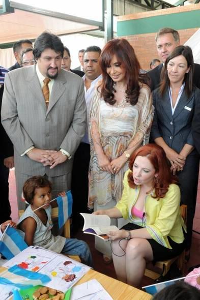 Andrea con la Presidenta F2c7eb055b