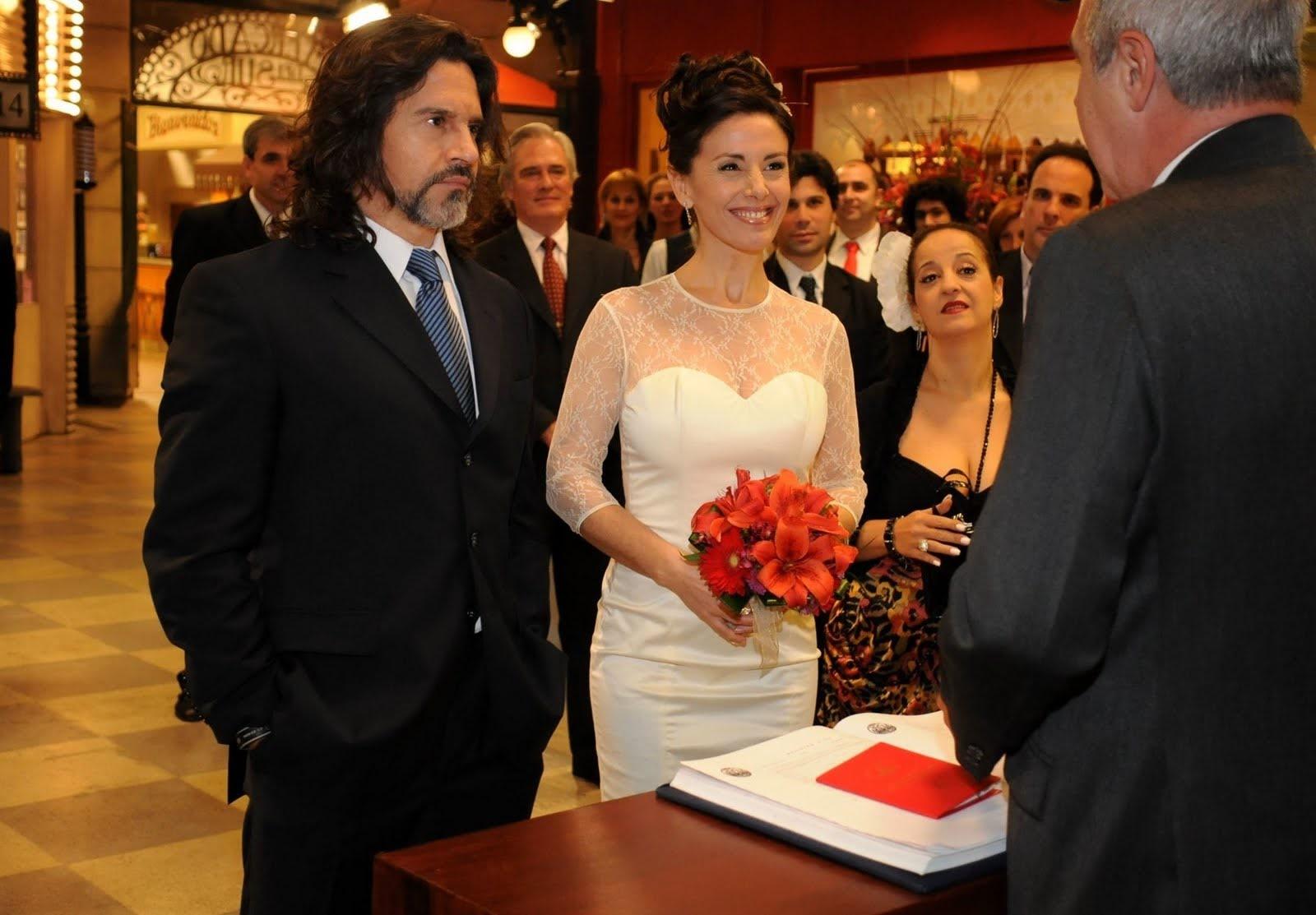 Llega el día del casamiento entre Rodolfo y Katia Casamiento7