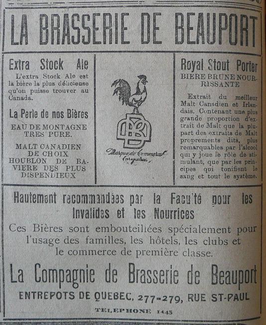 Annonces pour tous ! Beauport_brasserie-LESOLEIL-15-12-1906