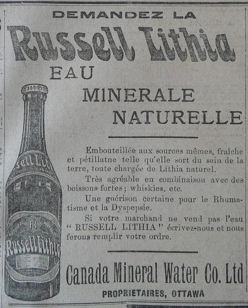 Annonces pour tous ! Canada_mineral_water_russell_lithia-LESOLEIL-10-12-1906