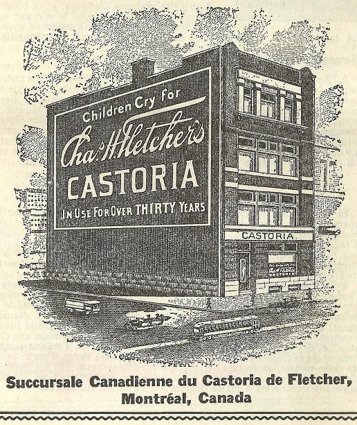 Édifice Frasier Thornton à Cookshire Centaur_castoria_batisse_ca_1917