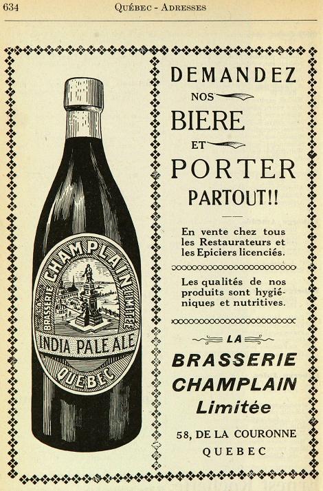 Annonces pour tous ! Champlain-annuairequeacutebec1916