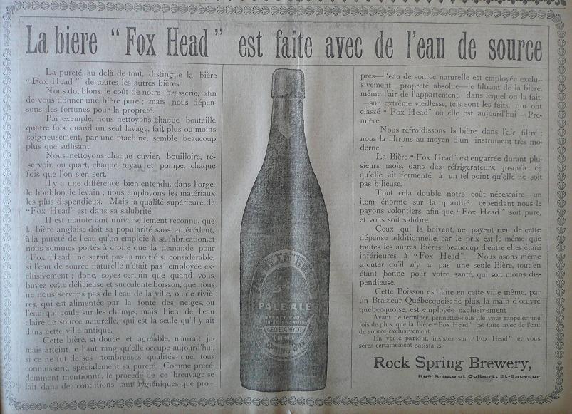 Annonces pour tous ! Rock_spring_brew_fox_head-LESOLEIL-15-12-1906