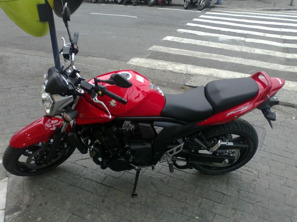 monstrinho vermelha - Bandit 650N - saiu do forno 30082011119