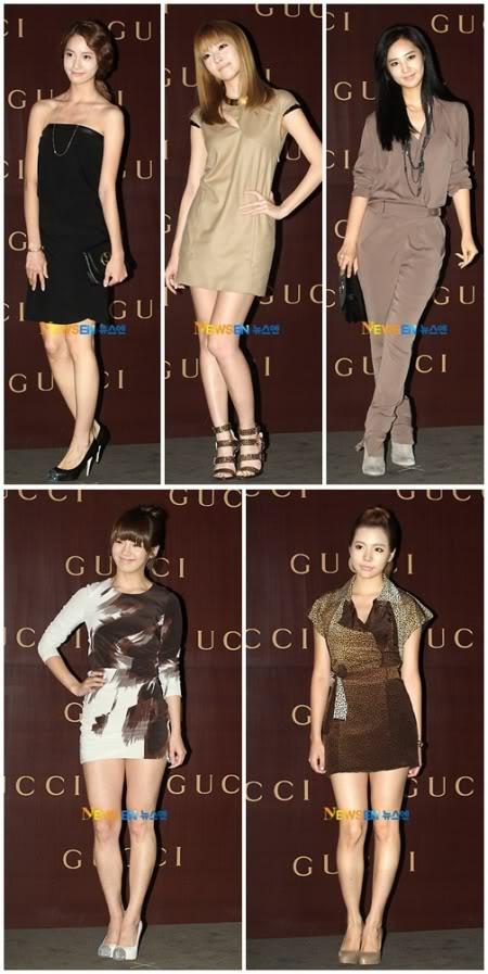Estrellas que asisitieron al desfile de Moda de Gucci 1