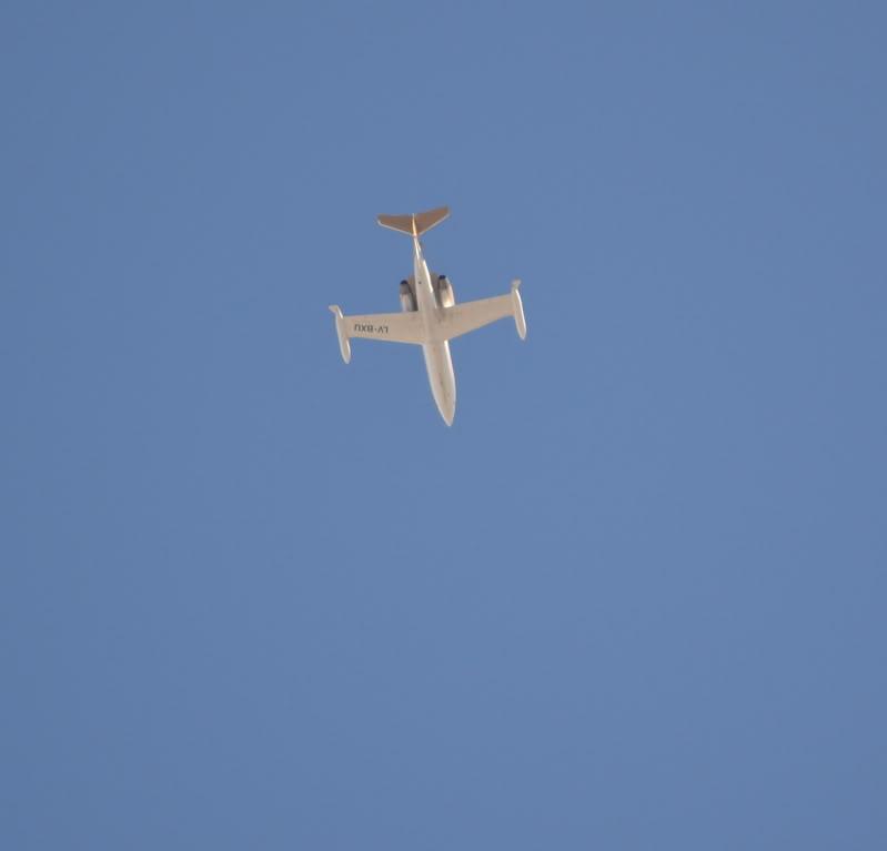 Sobre el cielo de La Plata Aviones11