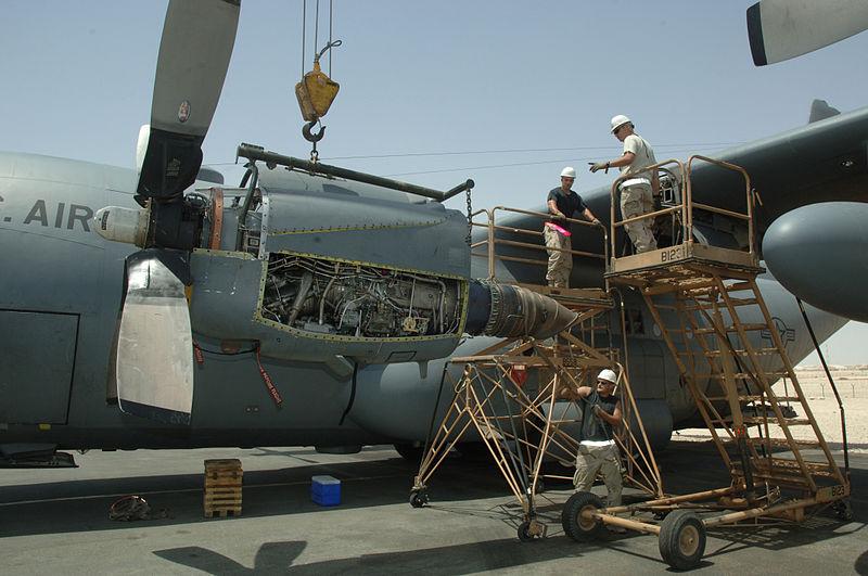 Boletín de noticias de los C-130 Hércules T56A-1