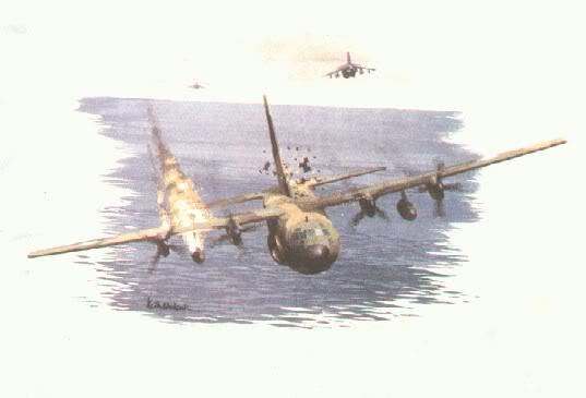 El Derribo del Hércules TC-63 C130derr