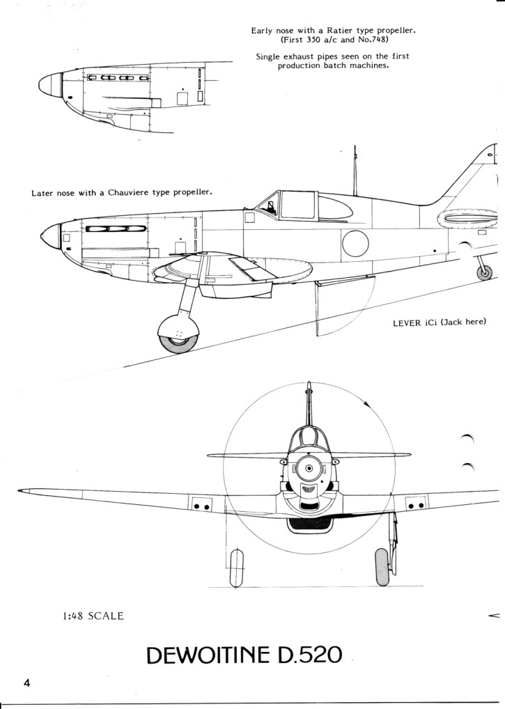 Dewoitine D. 520, Gull Wings 1/48, 1983 IMG_0004-7
