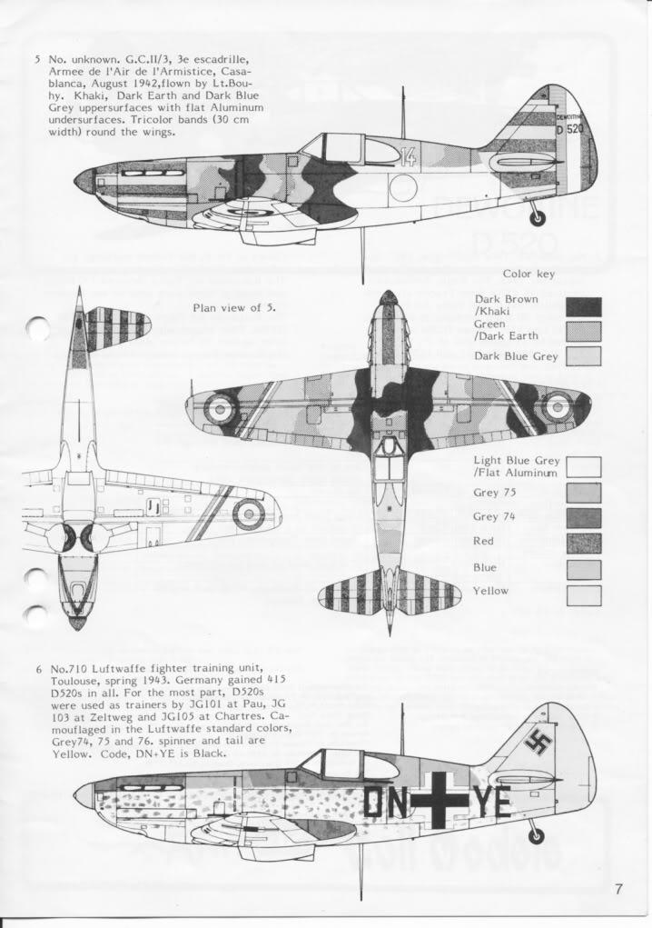 Dewoitine D. 520, Gull Wings 1/48, 1983 IMG_0007-5