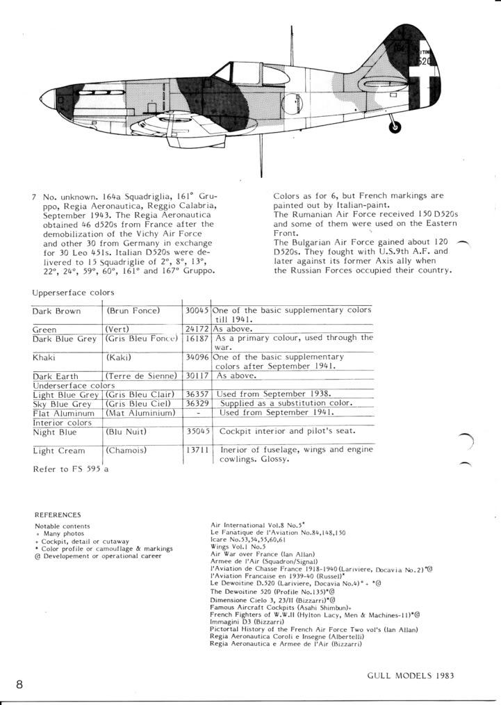 Dewoitine D. 520, Gull Wings 1/48, 1983 IMG_0008-7