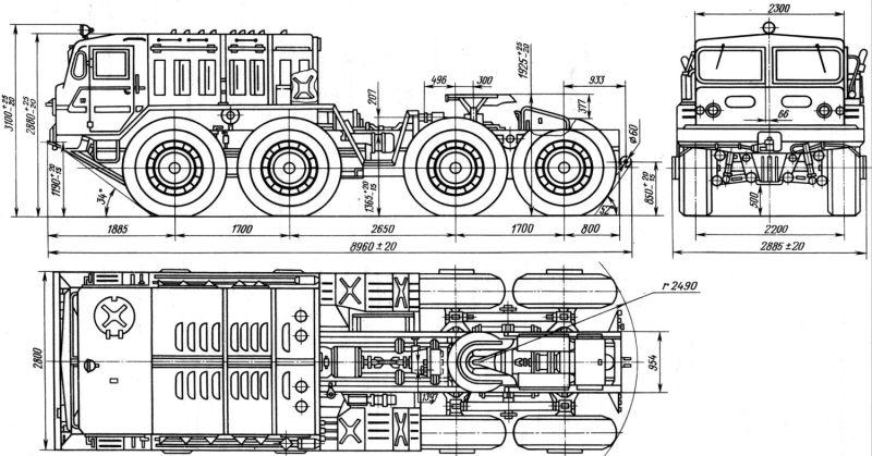Infos précieuses en cas de projet de camions Russes MAZ-535A