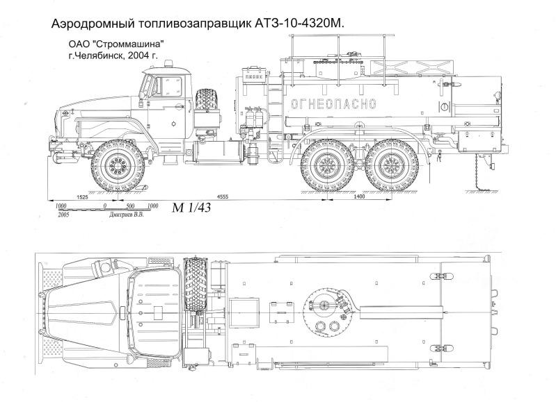 Infos précieuses en cas de projet de camions Russes Ural-4320fueltruck