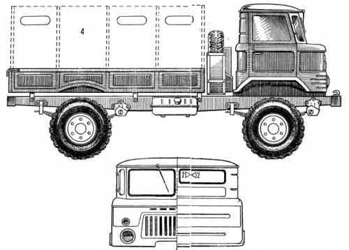 Infos précieuses en cas de projet de camions Russes Gaz_662tnTruck