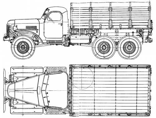 Infos précieuses en cas de projet de camions Russes Zil_15745tntruck