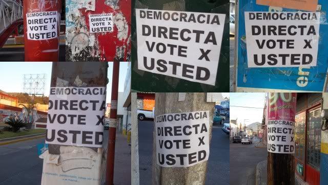 Democracia Directa. Vote X usted 2012 Pictures