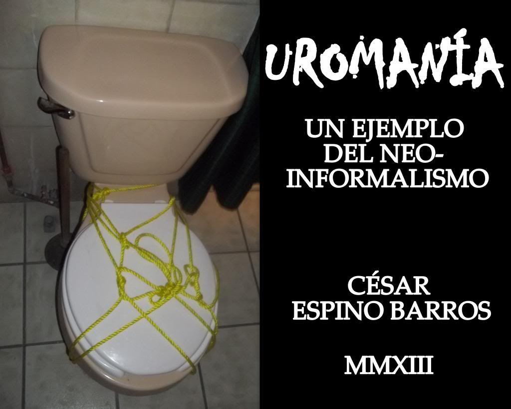 Trabajos visuales 2013 de César Espino Barros Uromaniacutea