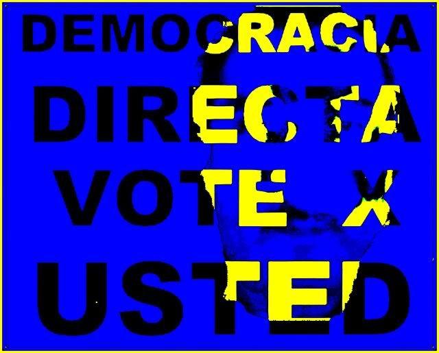 Democracia Directa. Vote X usted 2012 Cuatro-1
