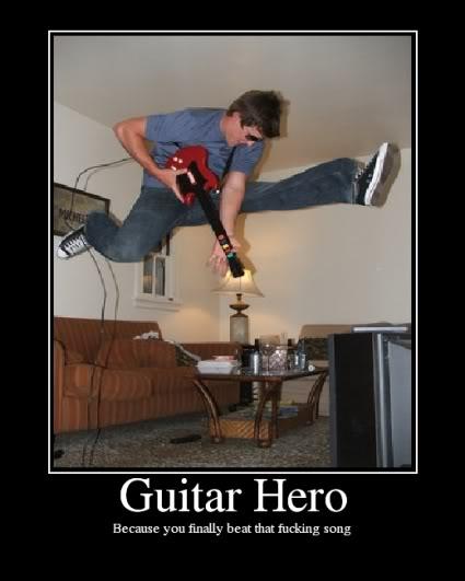 Guitar Hero win! GuitarHero