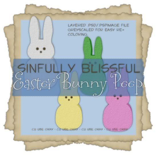 - Sinfully Blissful Scrap Freebies - Sbs_easterbunnypeep