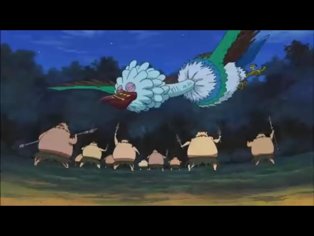 [Trama Presente] ¡Luyu es la elegida!, ¡El trono de las aves gigantes y el renacer de Eerie! Geo6
