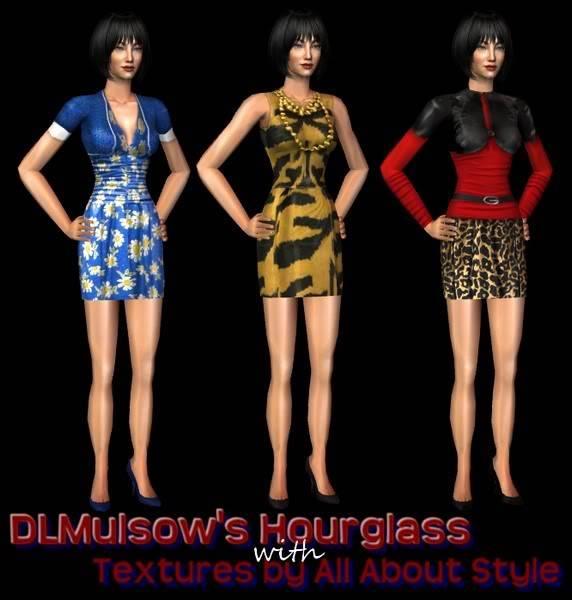 Roupa casual feminina - DLMulsow's HG Casual Conversions Set 1 DLMulsow-AASConversions4HG