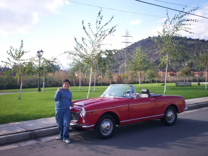 Mi Clasico. Fiat 1200 Spider 1961 Spider61