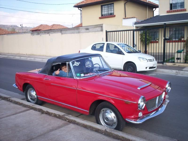 Mi Clasico. Fiat 1200 Spider 1961 Spider6111