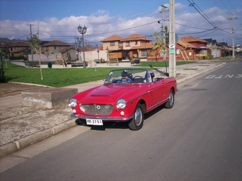 Mi Clasico. Fiat 1200 Spider 1961 Spider6114