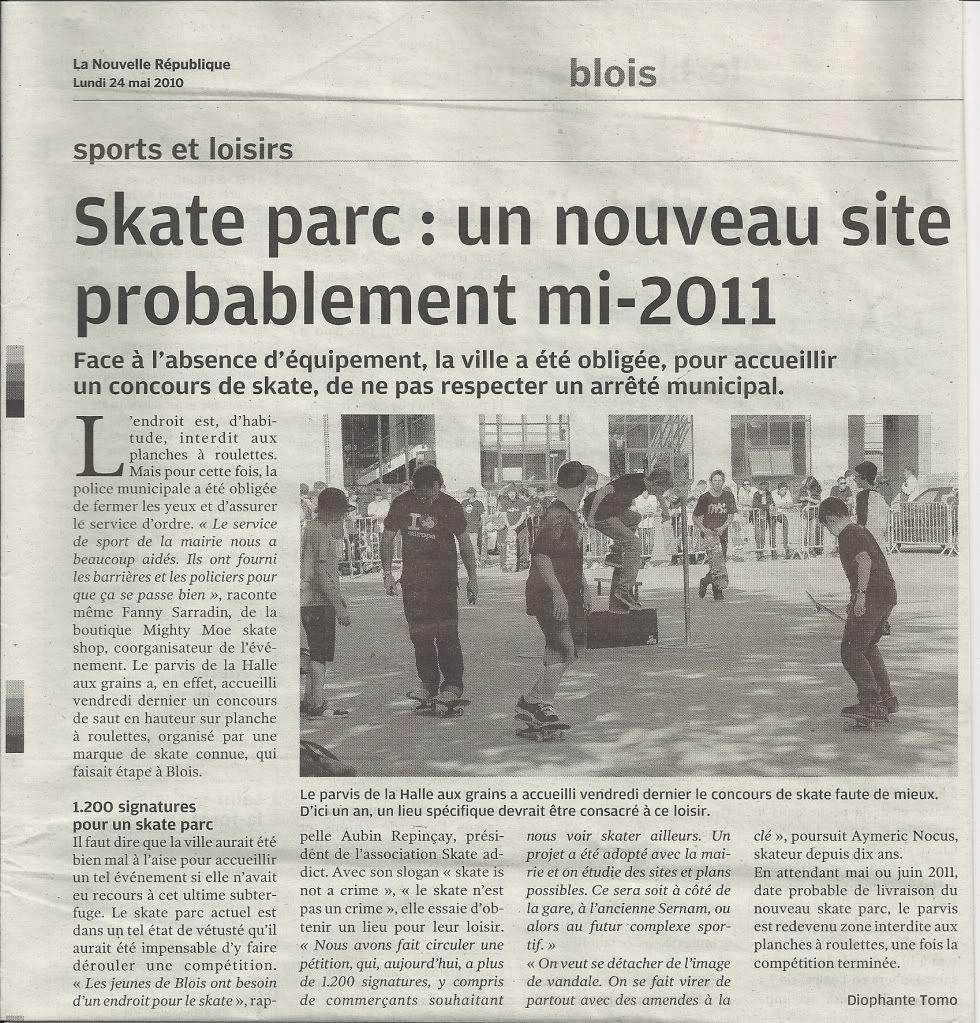 Ollie contest Cliché à Blois le 21 mai NUMRISAT