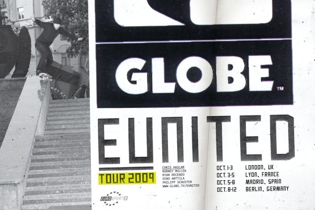 Tour Globe US Lyon 3-5 octobre Outlook