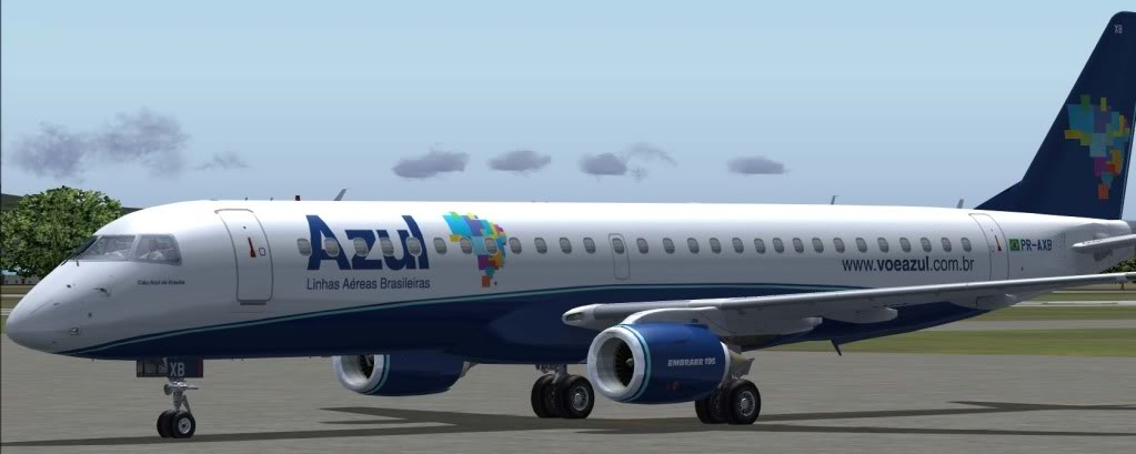Embraer 195 Embraerazul