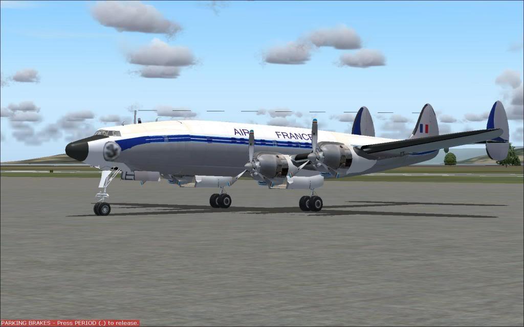 Poste a foto do seu avião preferido. SUPERconstellatio
