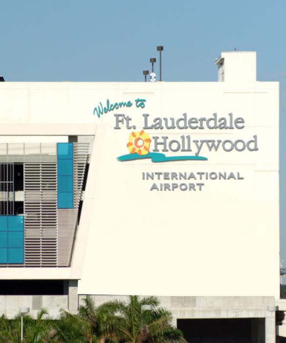 De Maceió-AL (SBMO)BR para Fort Lauderdale (KFLL)-EUA - Parte 3 Bemvindofortlauderdale