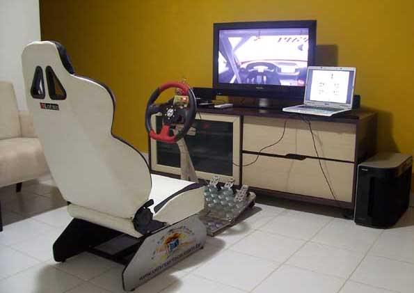 O que mais você joga além de simular?? Cockpitdrivein