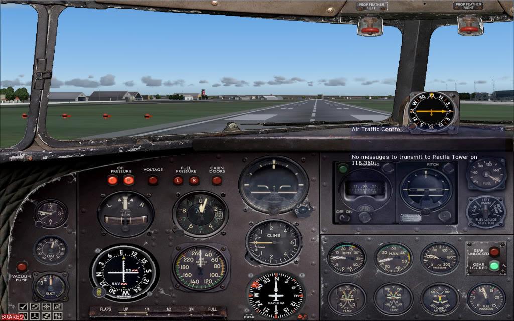[FS9] Voando com o DC3  Dc3pronto3