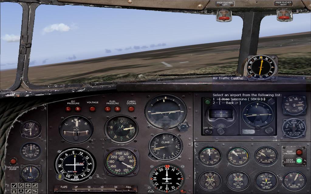 [FS9] Voando com o DC3  Dc3vistcg